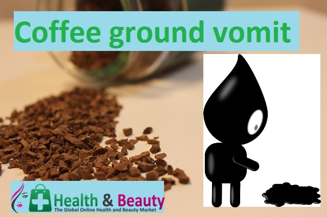 Coffee ground vomit
