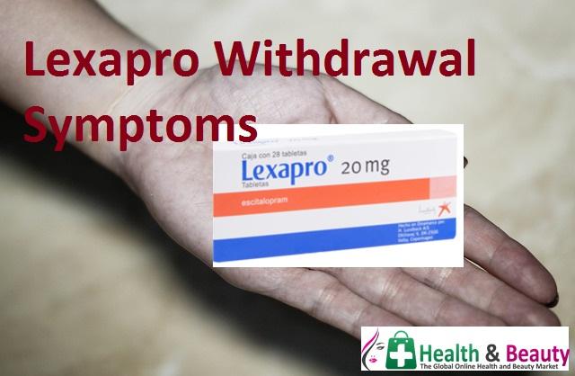 Lexapro Withdrawal Symptoms