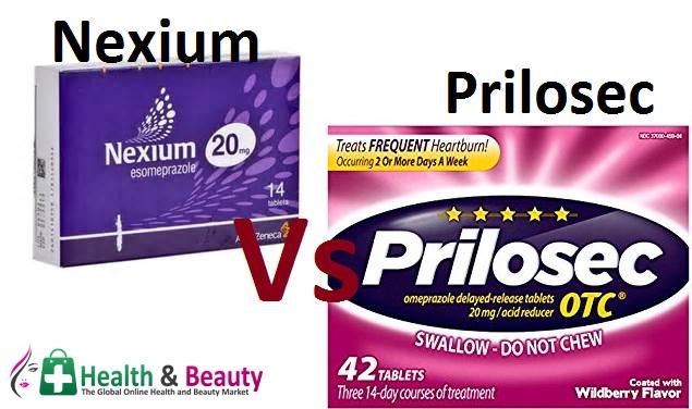 Nexium vs Prilosec