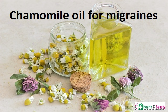 chamomile-Essential oils for migraines