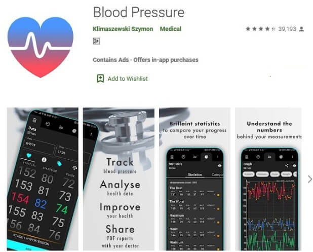 Best Blood Pressure App For Android