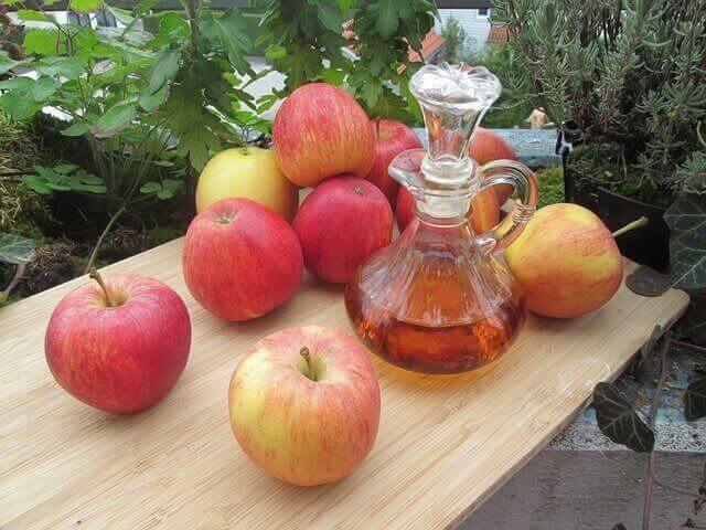 Mixture of Apple cider vinegar for kidney stones