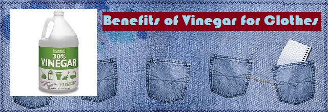Benefits of Vinegar to remove stains
