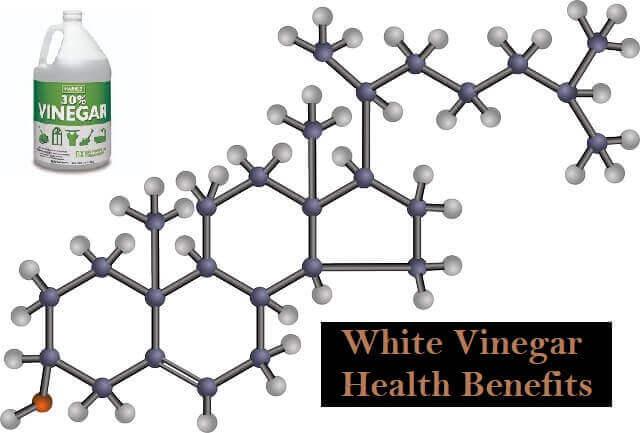 White Vinegar Health Benefits to lowering cholesterol