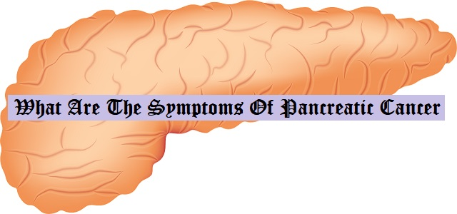 What Are The Symptoms Of Pancreatic Cancer