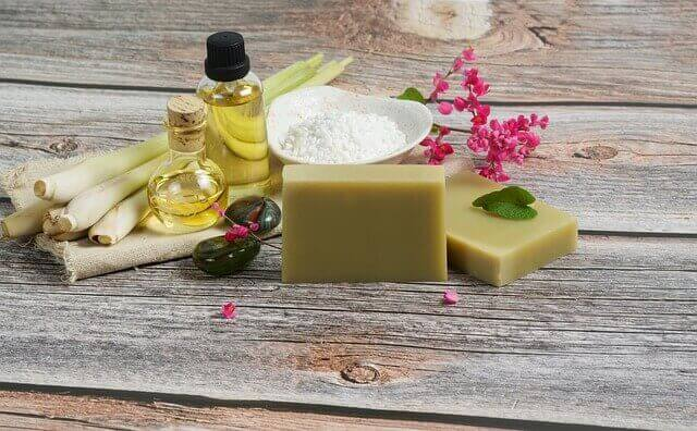 Way To Wind Down After A Workout - Lemongrass soap