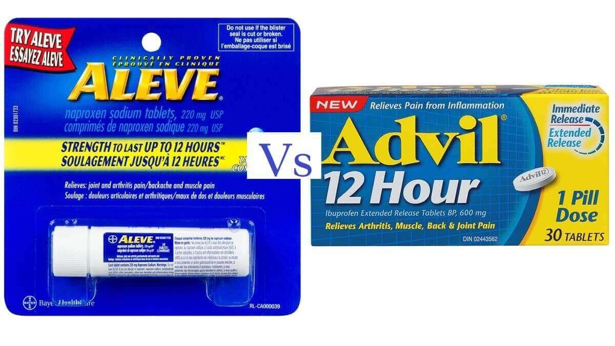Aleve vs Advil