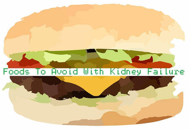 Foods To Avoid With Kidney Failure - Processed food