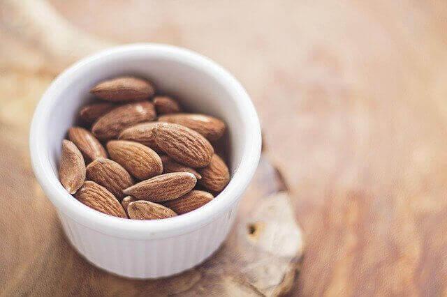 Vegetarian Food List - Almond